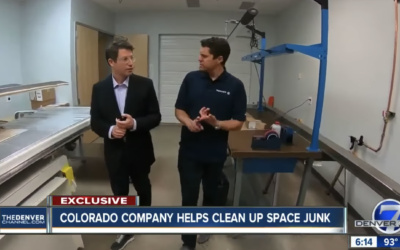 Colorado Company Helps Clean Up Space Junk