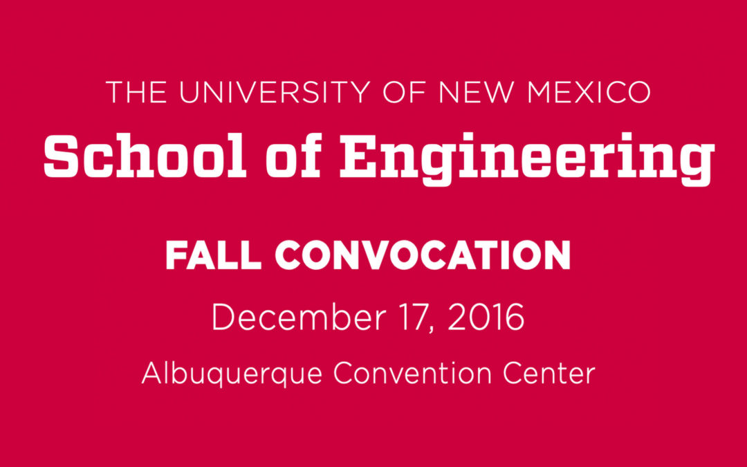 Doug Campbell Keynote Speaker at UNM Convocation