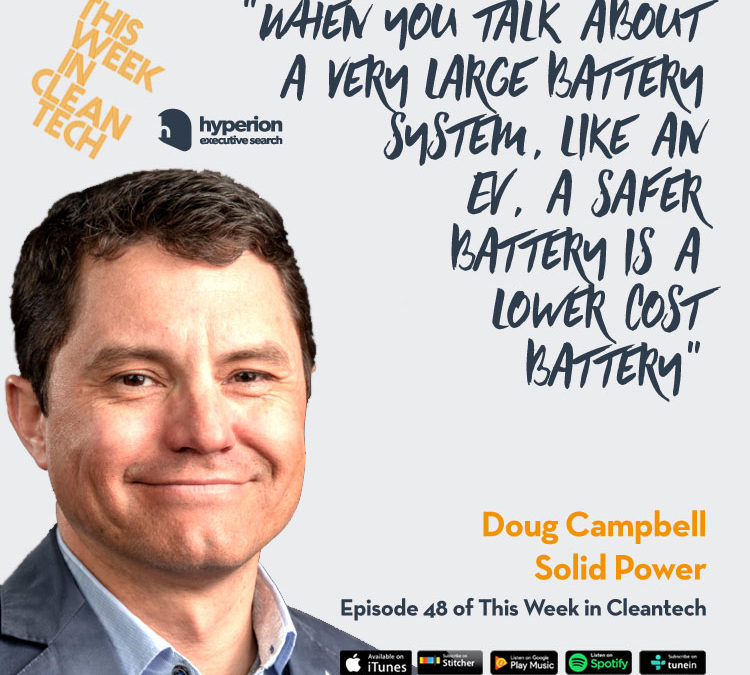 This Week in Cleantech w/ Doug Campbell