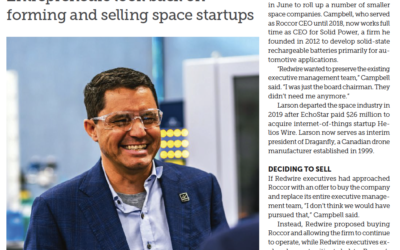 Space News – Beyond exits: Entrepreneurs look back on forming and selling space startups